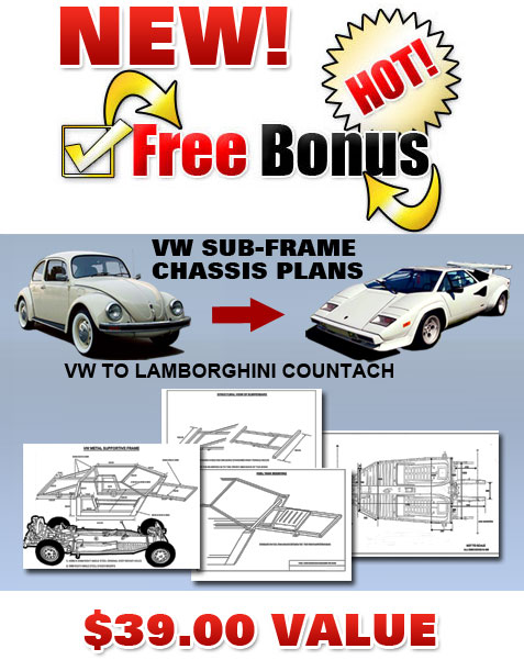 Build A Lamborghini Countach Body From Scratch, Build Any Kit Car ...
